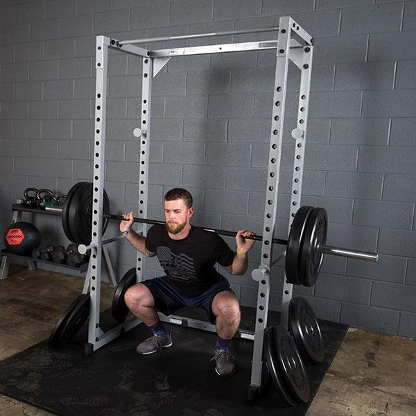 Extreme garage gym power rack package