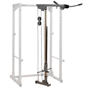 Powerline Power Rack with Lat
