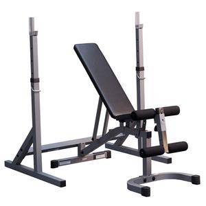 PSS60X Squat Rack with PFID130X Bench