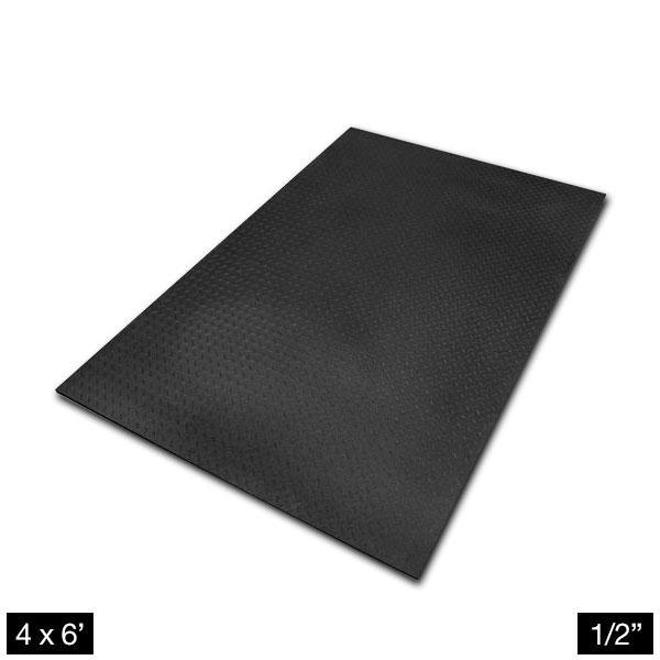 Rubber Flooring 1 2 Inch Thick