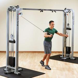 body solid proclub cable crossover machine. Black Bedroom Furniture Sets. Home Design Ideas