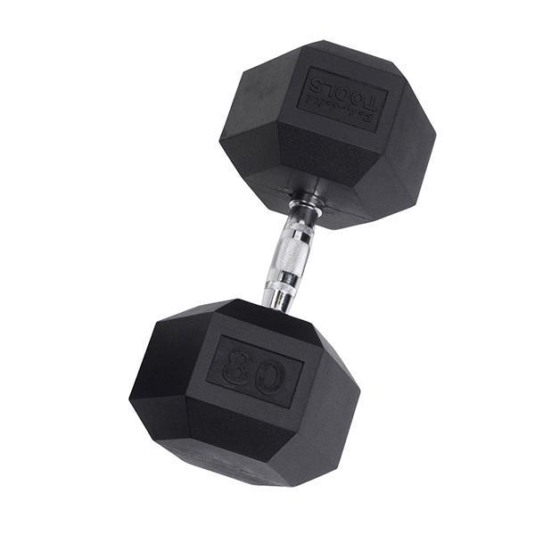 rubber coat hex dumbbells 3 120 poundsHexagon Dumbbells #8