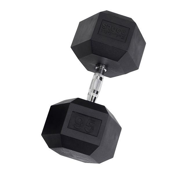 Rubber Hex Dumbbell