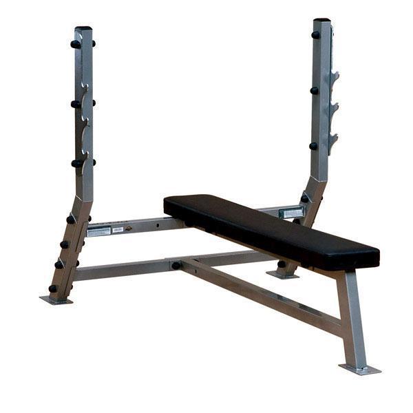 Pro Clubline Sfb349g Heavy Duty Flat Bench