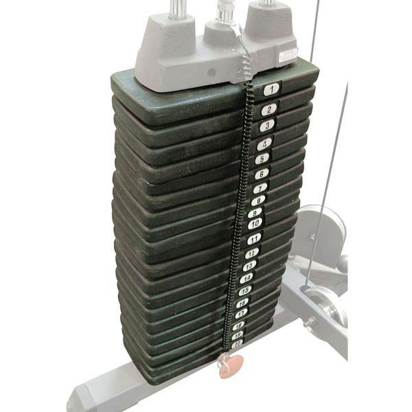 200 Pound Selectorized Weight Stack