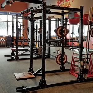 Body solid commercial double power rack