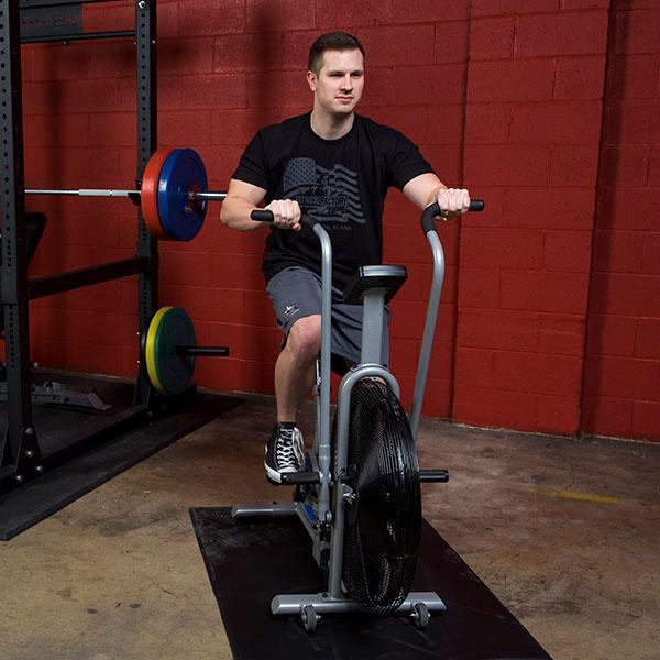 Garage gym power rack fan bike package fitness factory