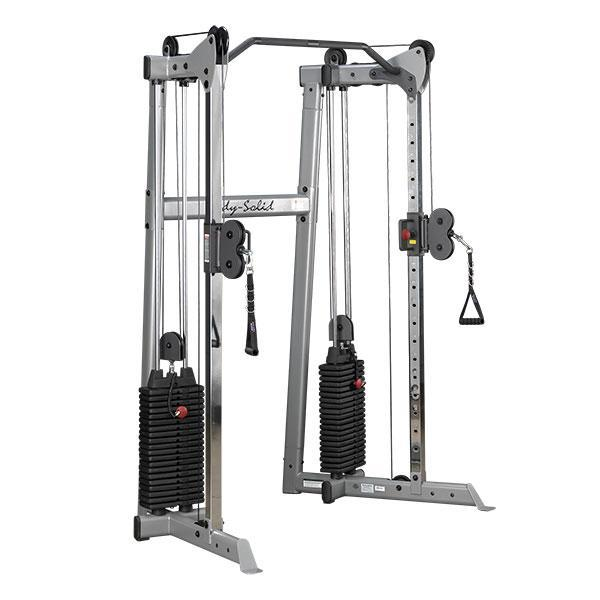 Functional Training: Body-Solid GDCC210 Compact Functional Trainer